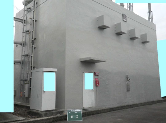 コンクリート建屋 アフター